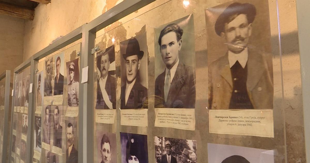 A 78 évvel ezelőtti csúrogi razzia áldozataira emlékeztek ma a Topalov-raktárban