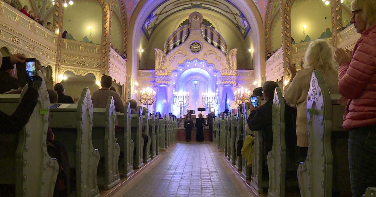 Hatalmas sikert aratott a szabadkai zsinagógában megtartott kántorkoncert