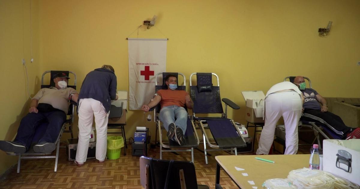 Ismét nagy sikerrel szerveztek önkéntes véradási akciót Zentán