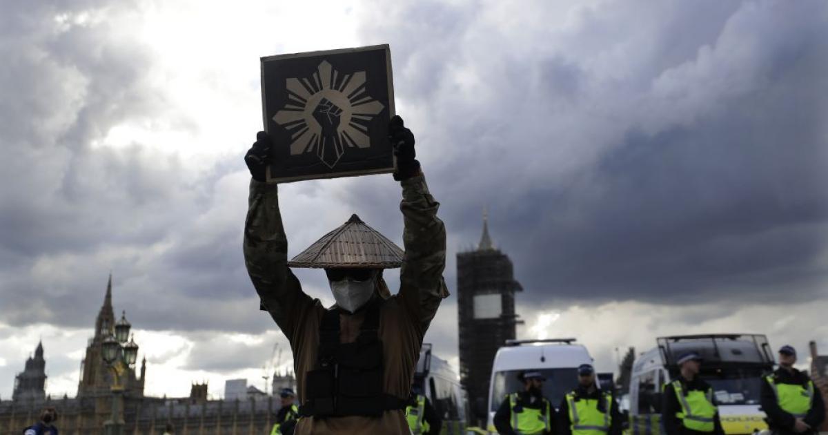 Összecsapások voltak Londonban