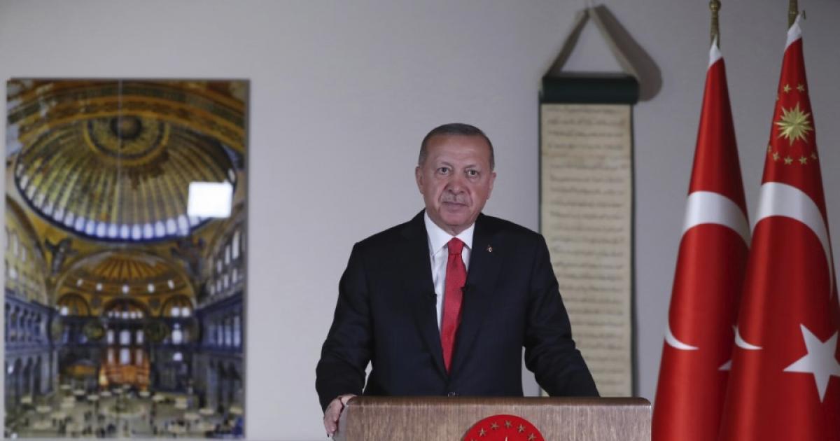 Recep Tayyip Erdogan: Az isztambuli Hagia Sophia feltámadása után következik az al-Aksza-mecset felszabadítása