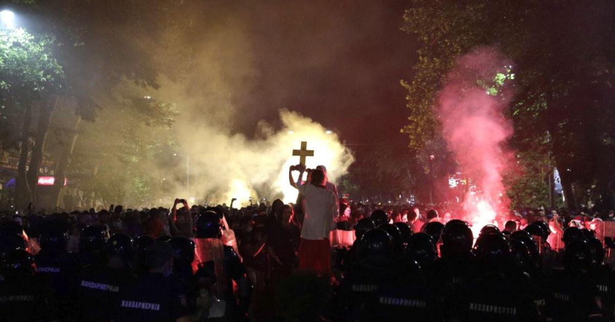 Szerbia több városában is tüntettek