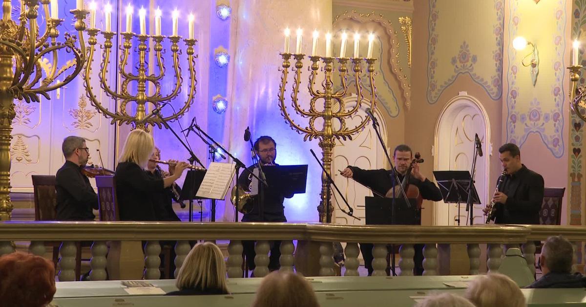 KÉK-hír: Komolyzenei koncert volt a Zsinagógában