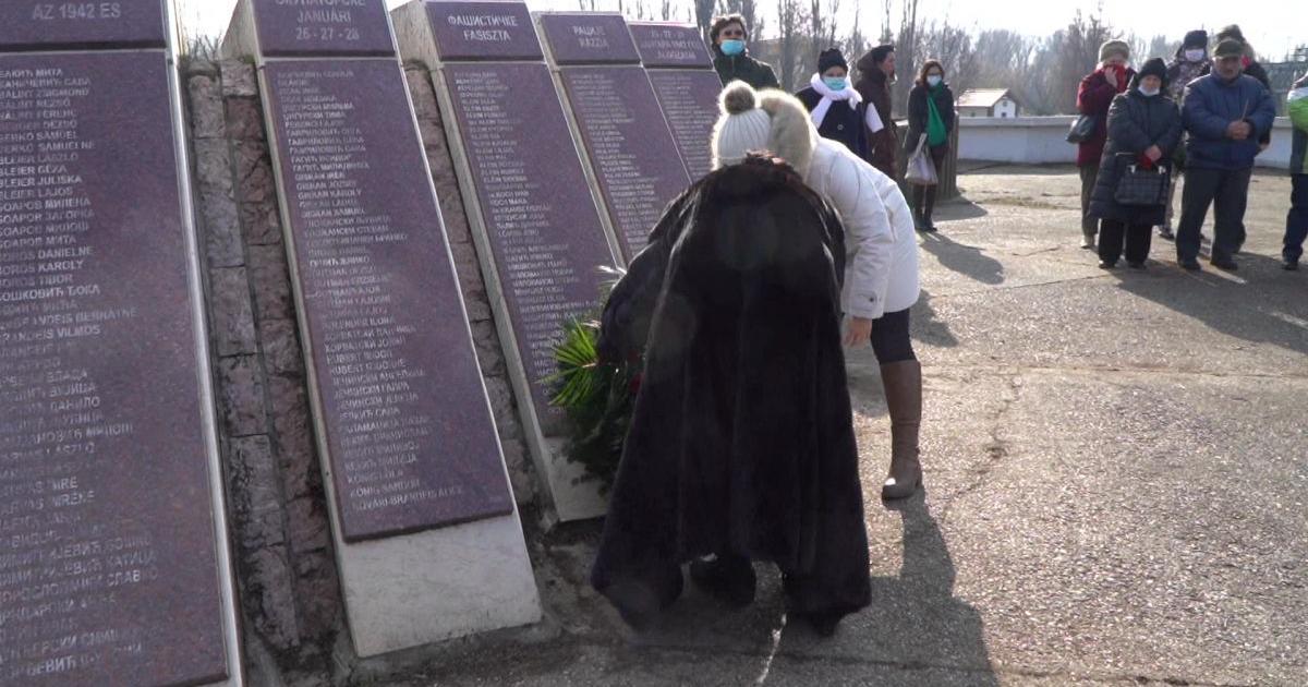 A razzia áldozataira emlékeztek Óbecsén