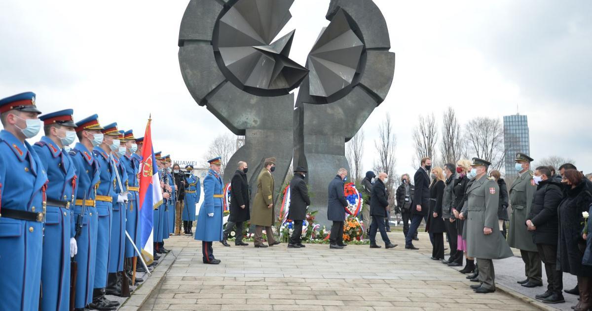 A holokauszt áldozataira emlékeztek Belgrádban