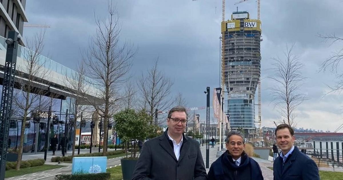 A belgrádi torony még az év vége előtt elkészül
