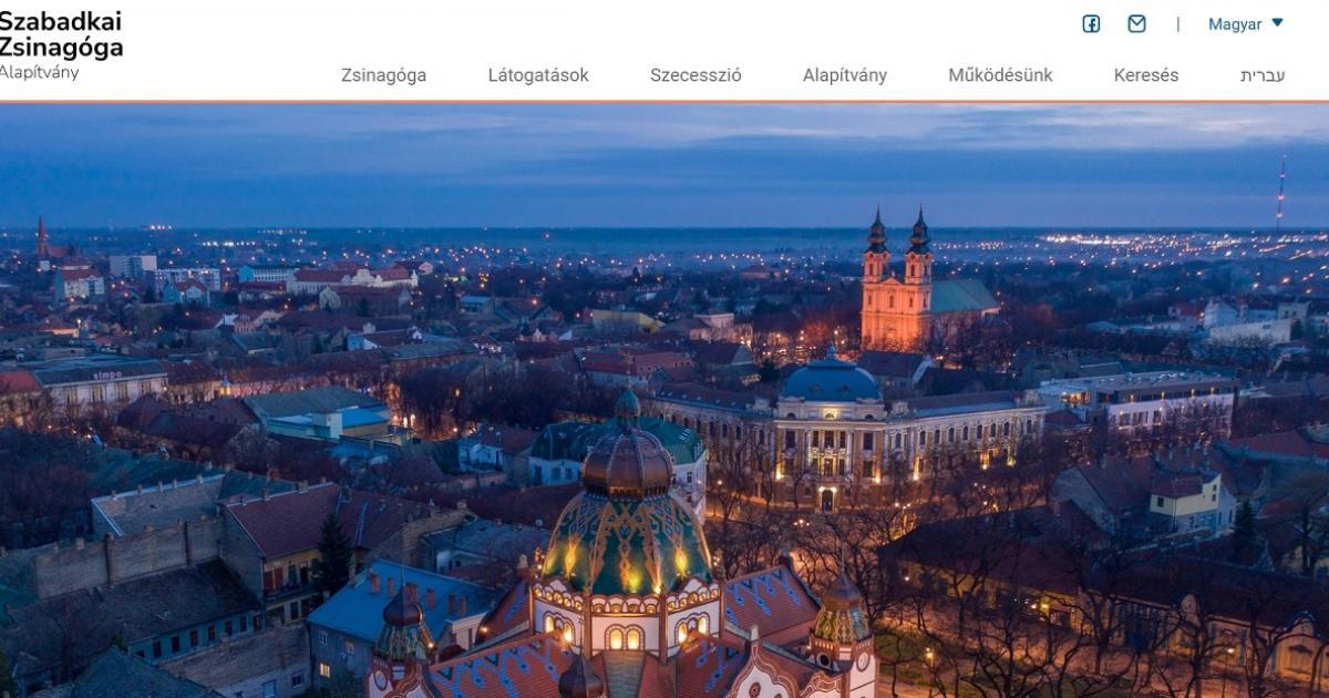 KÉK-hír: Elérhető a Szabadkai Zsinagóga honlapja