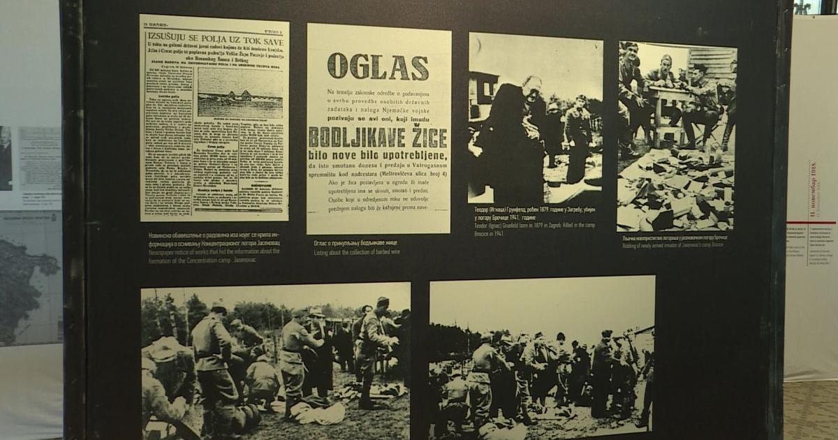 A jasenovaci koncentrációs táborról nyílt kiállítás Szabadkán