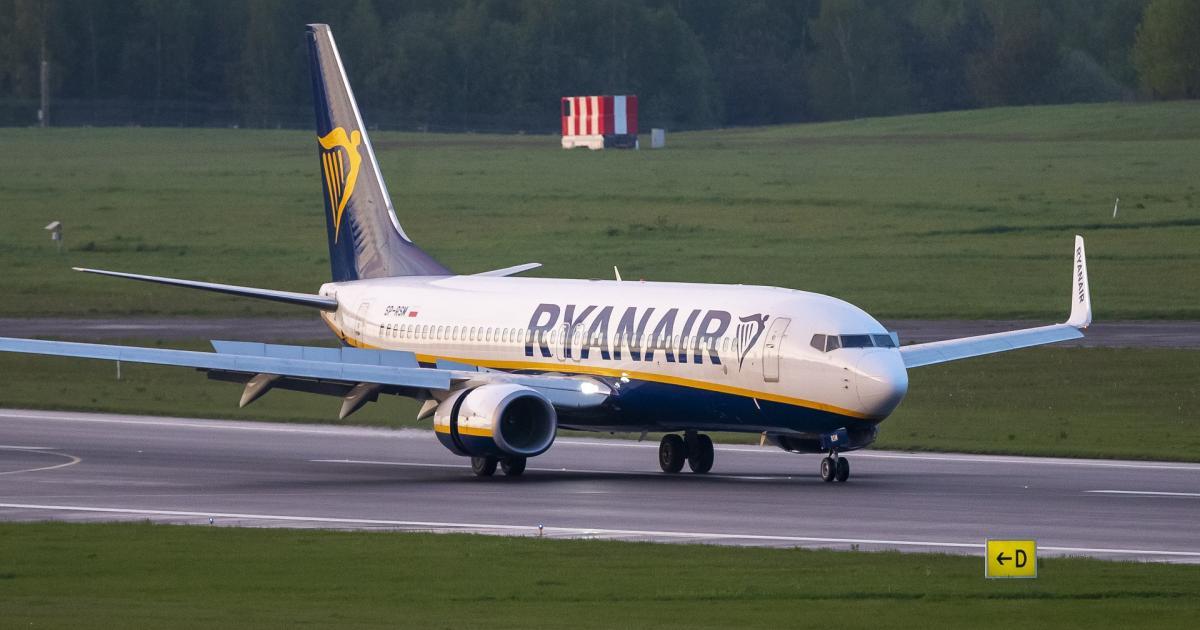 Fehéroroszország: Bombafenyegetés miatt kellett leszállítani a Ryanair repülőgépét