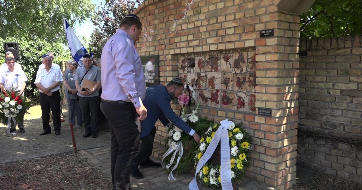 A zsidók 77 évvel ezelőtti deportálásáról emlékeztek meg Topolyán