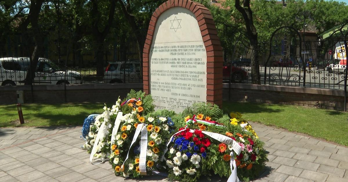 A Szabadkáról deportált zsidókra emlékezve