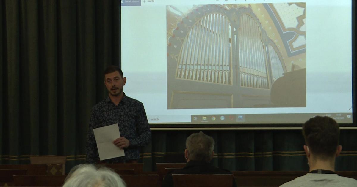 Orgonaépítő mesélt a szabadkai Zsinagóga orgonájáról