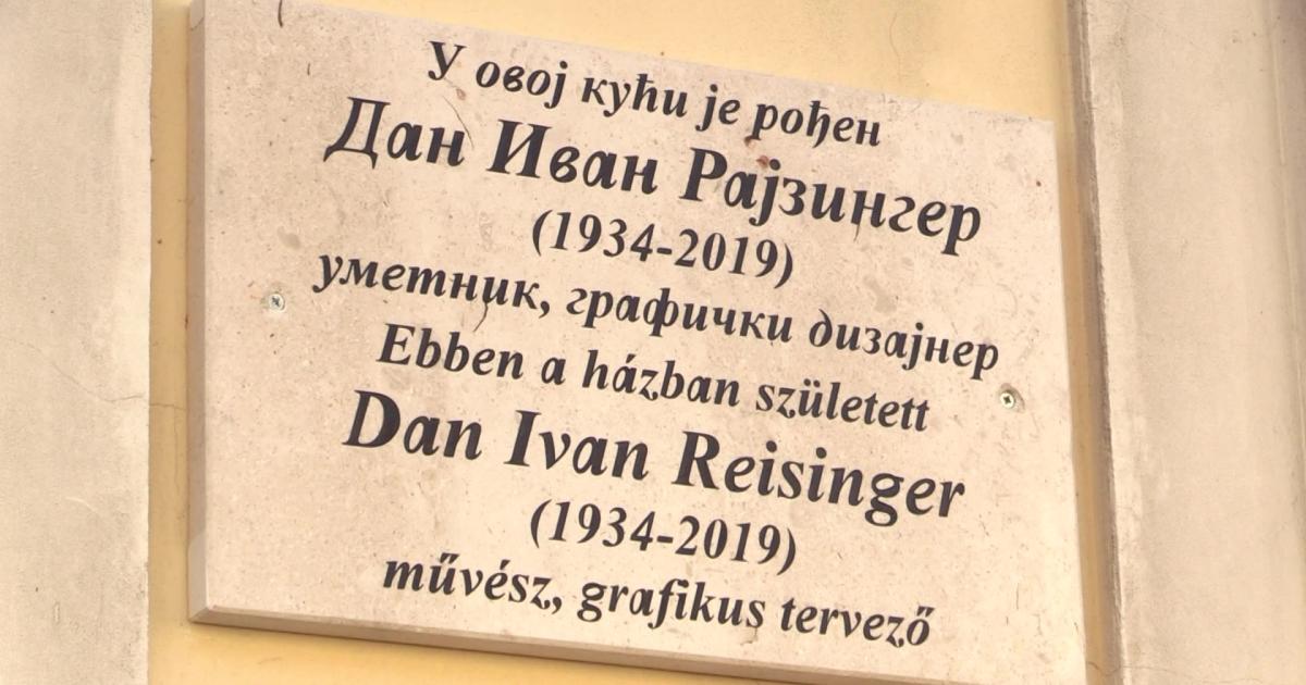 Emléktáblát kapott Dan Ivan Reisinger szülőháza