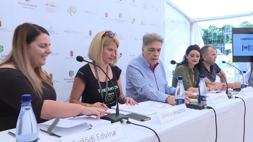 A panelbeszélgetés felszólalói